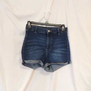 H & M Divided Dirty Dancing Jean Shorts womens 10